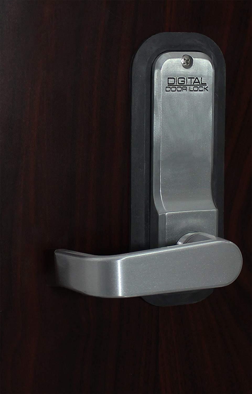 White White EC785 Flush Fit Remote Frequency Identification Electronic Cabinet//Locker Lock RFID
