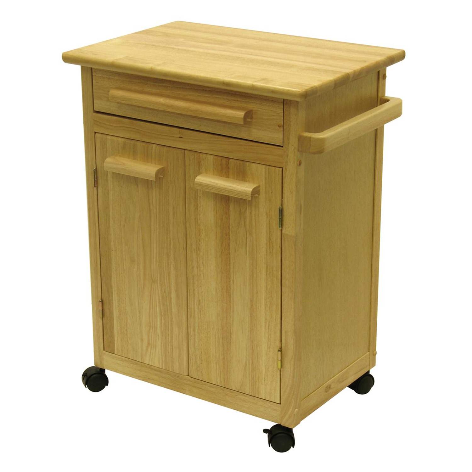 Kitchen cart with one drawer cabinet ojcommerce for Kitchen cabinet drawers