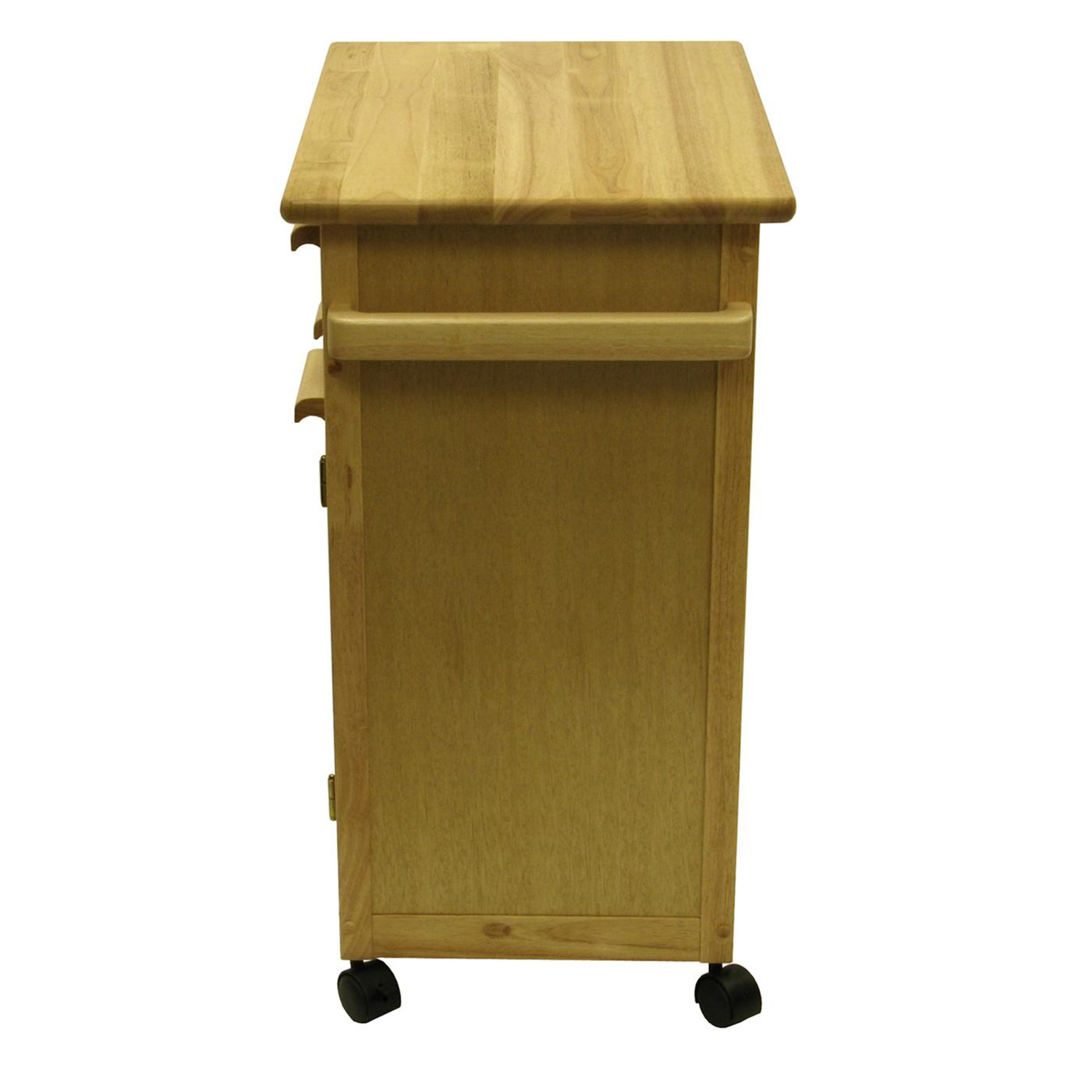 Kitchen Cart With Drawers: Kitchen Cart With One Drawer, Cabinet - $237.99