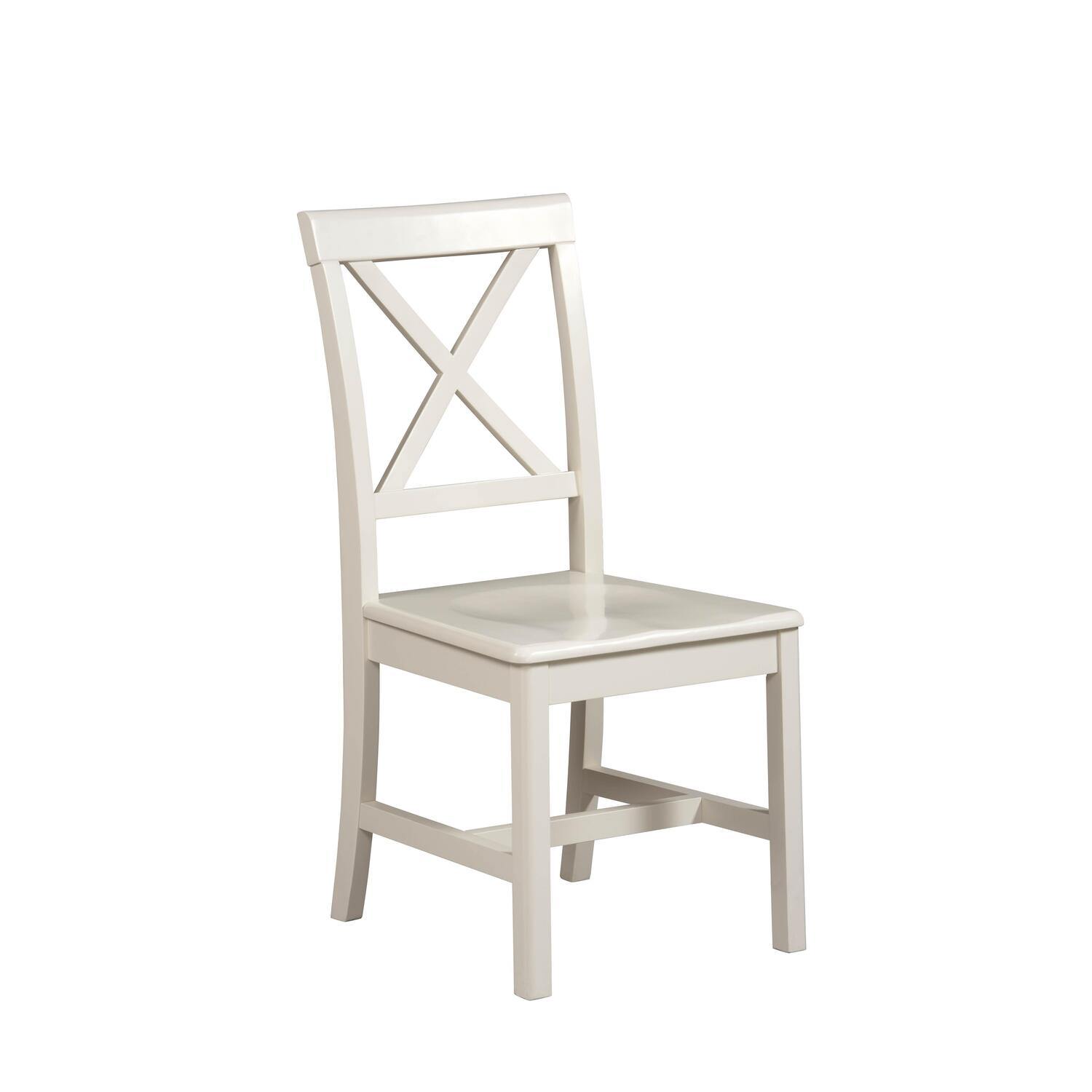 linon home decor products anna desk chair in antique white 85 41 ojcommerce 13516