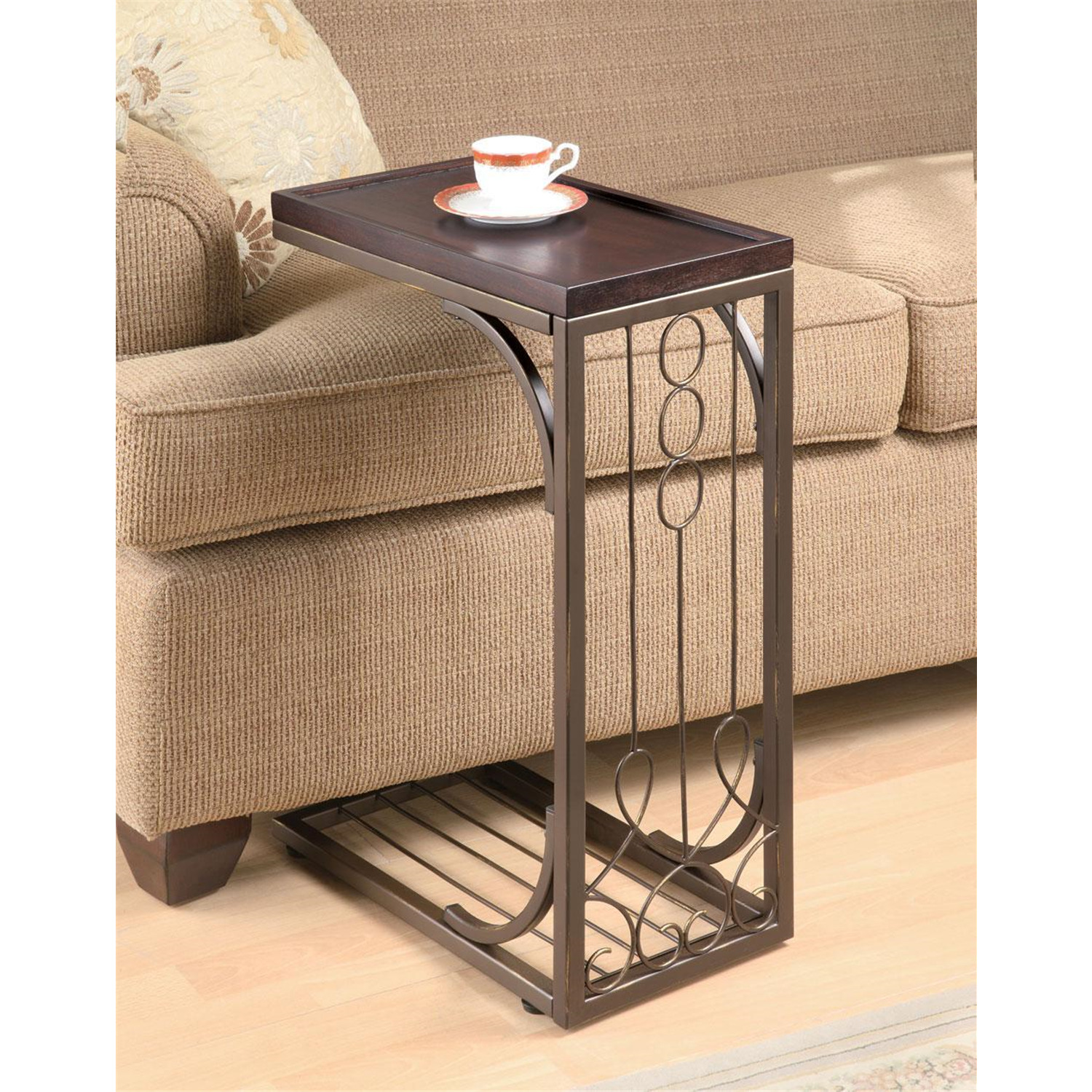 Coaster Traditional Brown Snack Table - [900280]