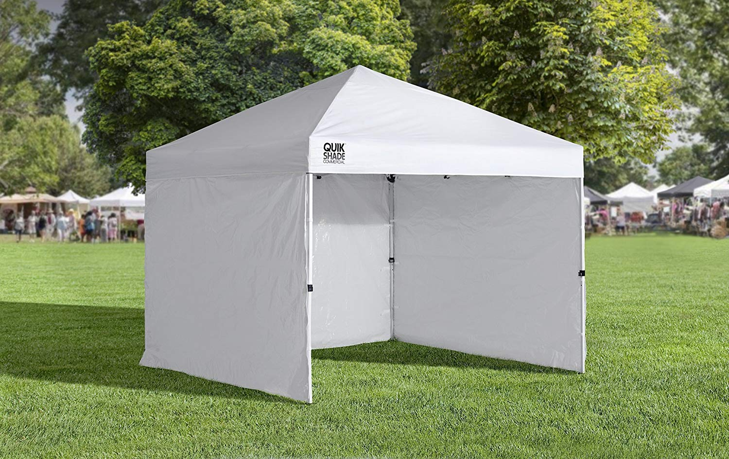 Quik Shade 10 X10 Instant Canopy Wall Panel Set With Zipper Entry