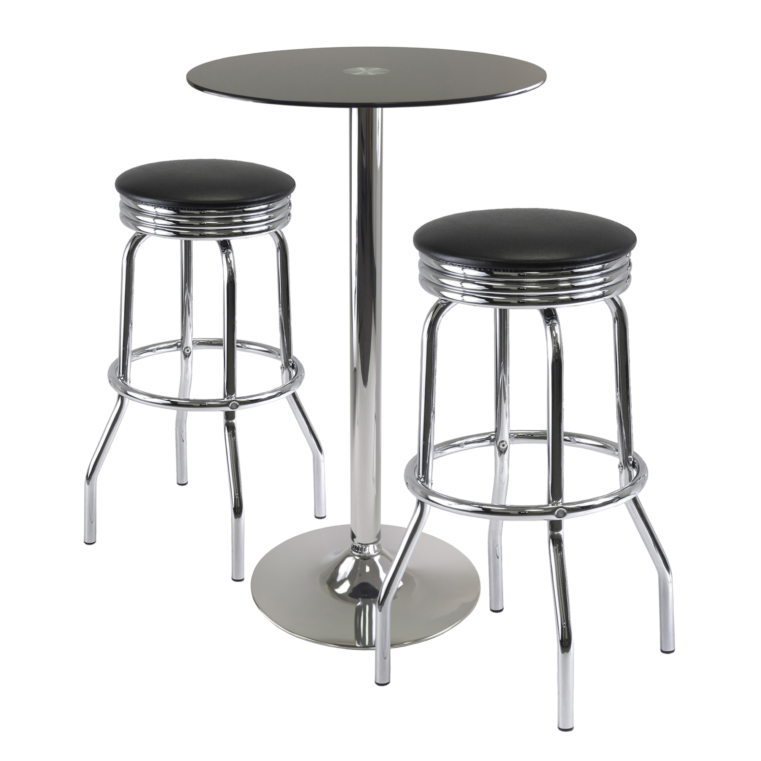 Rossi 3 Piece Pub Table Set $423 99