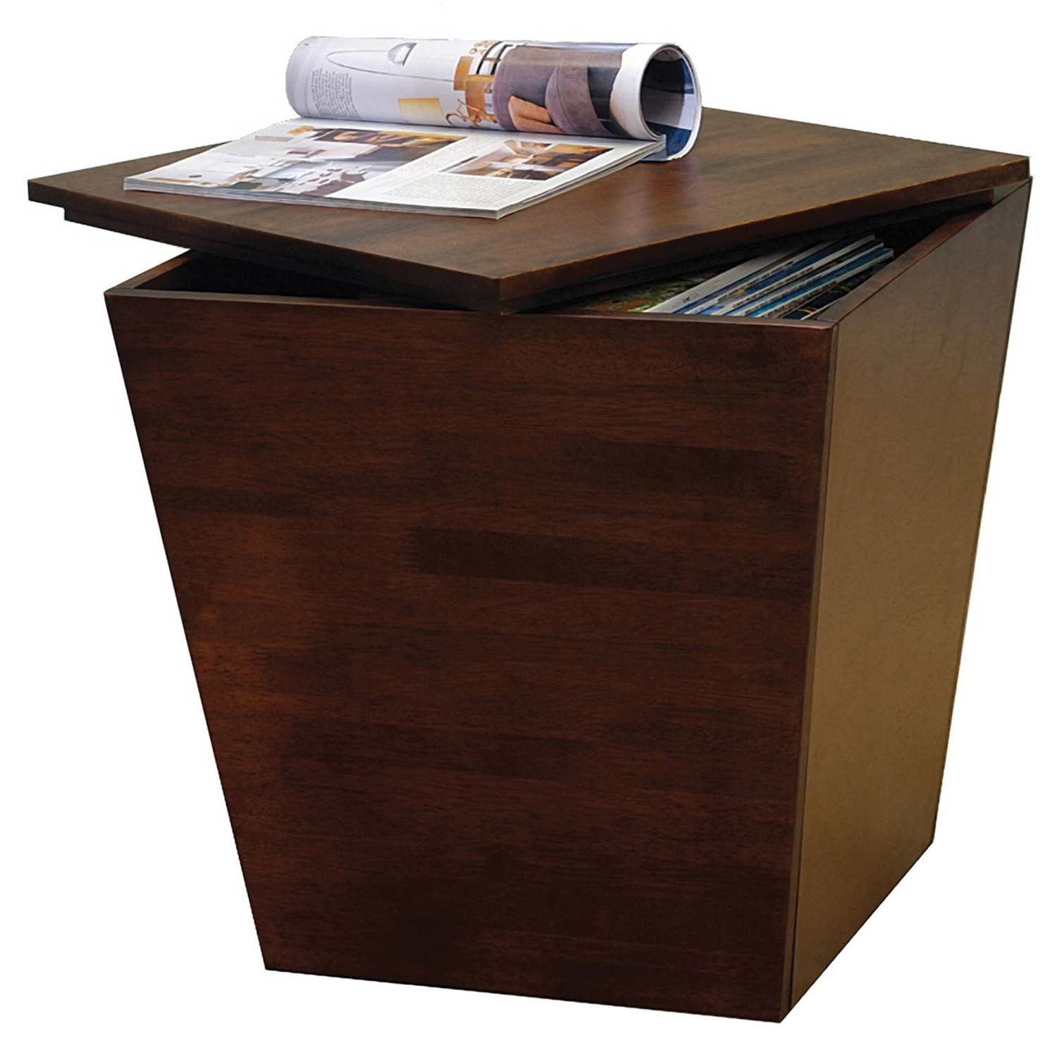 Storage End Tables For Living Room. Mesa Storage Cube  End Table 94418 OJCommerce