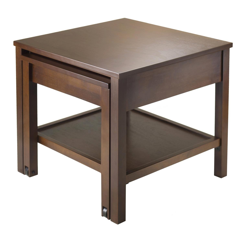 Brandon expandable end table ojcommerce for Expandable furniture