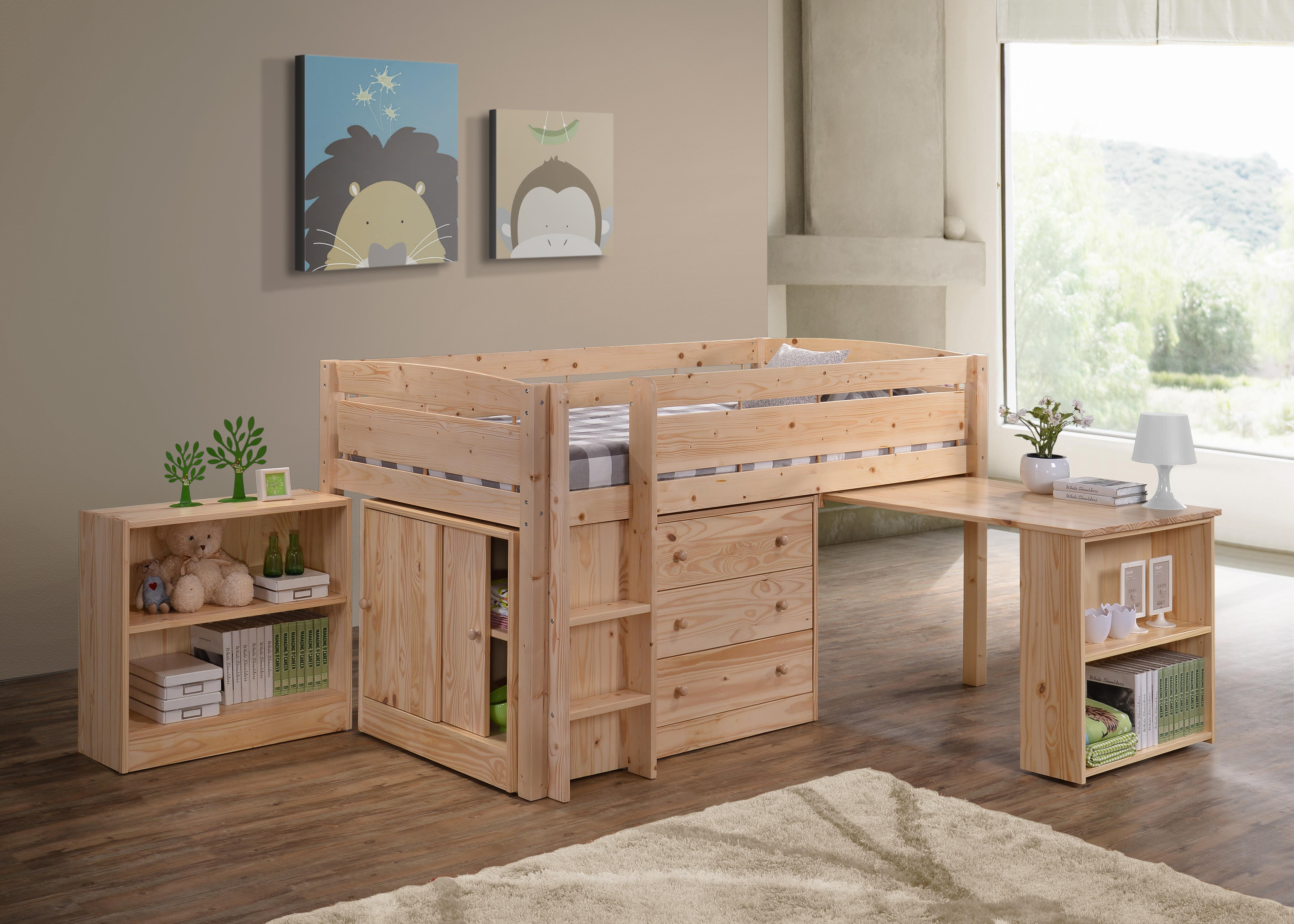 Storkcraft canwood whistler junior loft bed by oj commerce 2131 4 - Canwood whistler ...