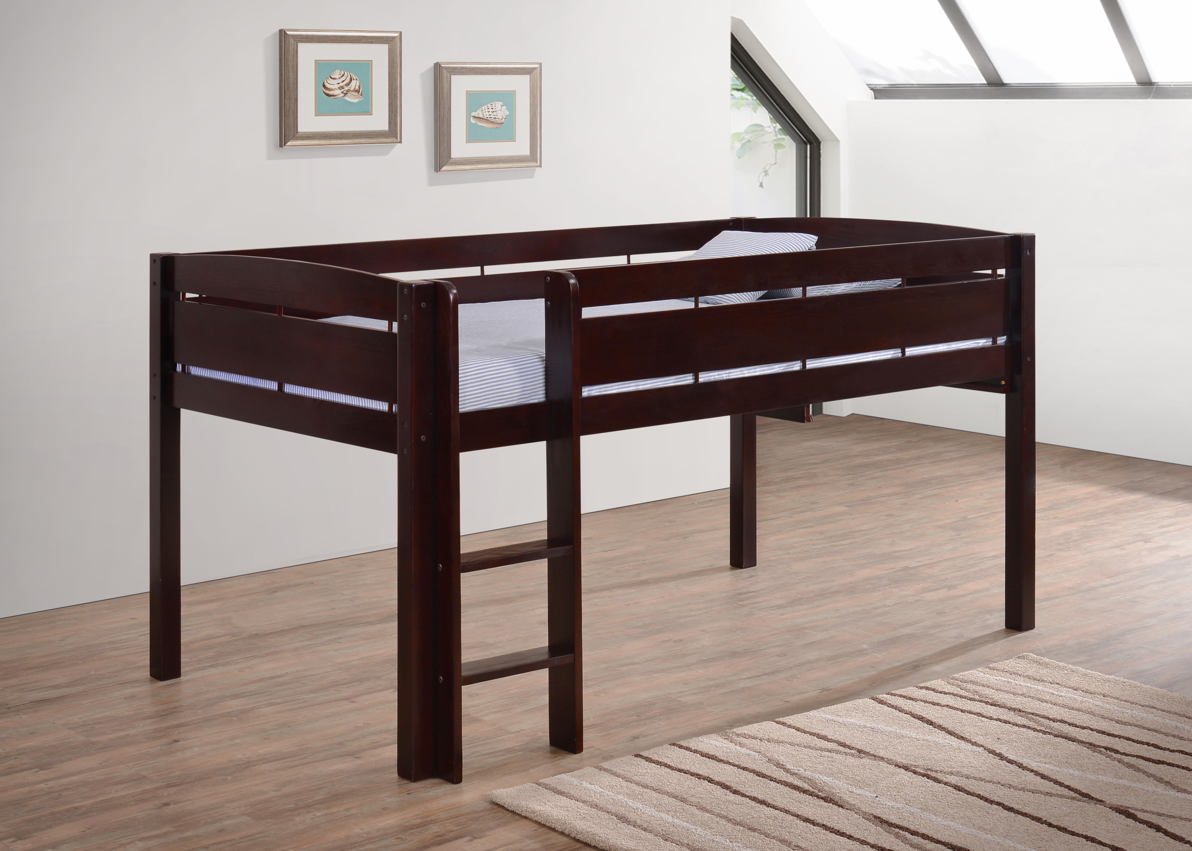 Canwood Whistler Junior Loft Bed Espresso