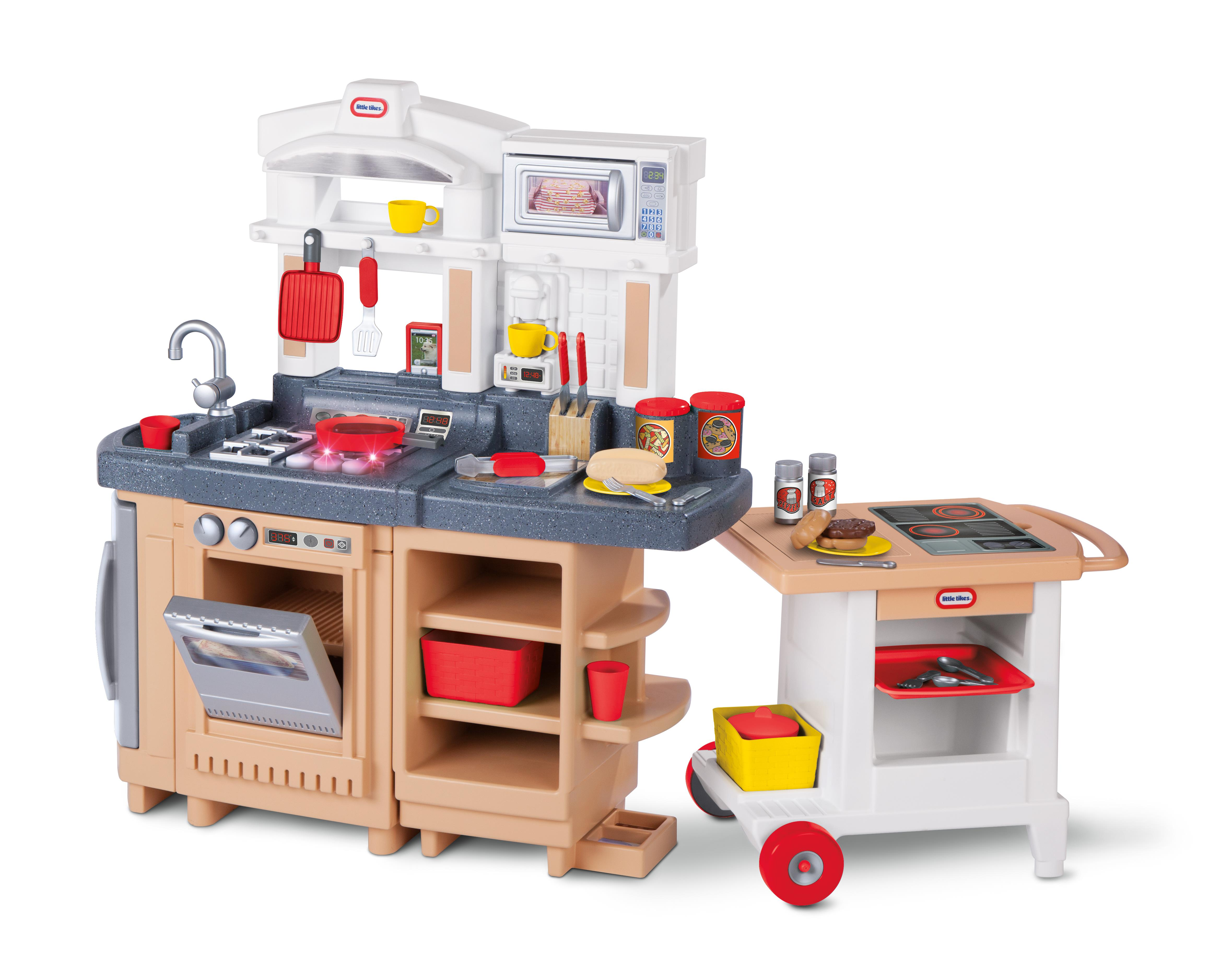 Little Tikes Cook Around Kitchen & Cart