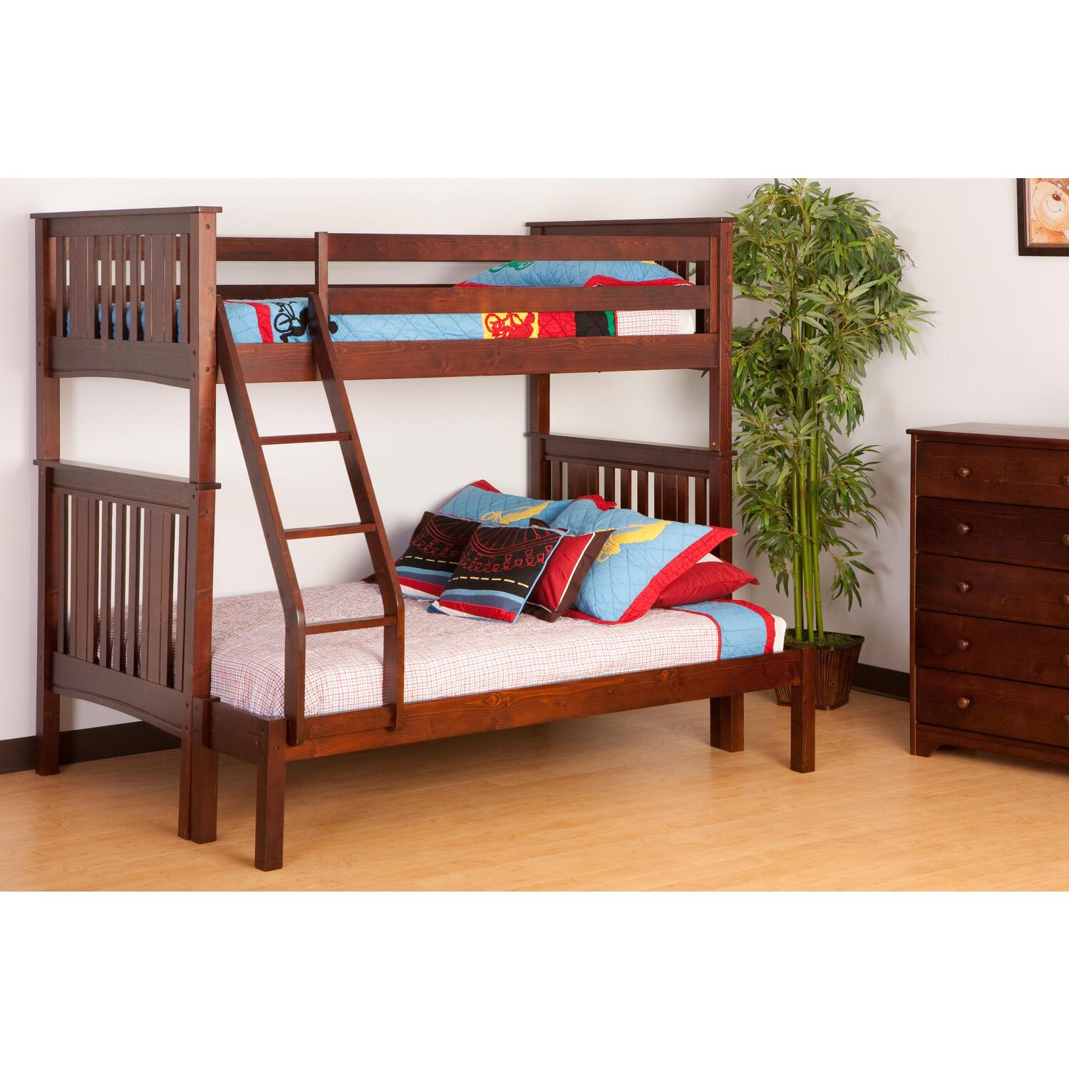 Canwood Base Camp Twin Over Full Bunk Bed Ojcommerce