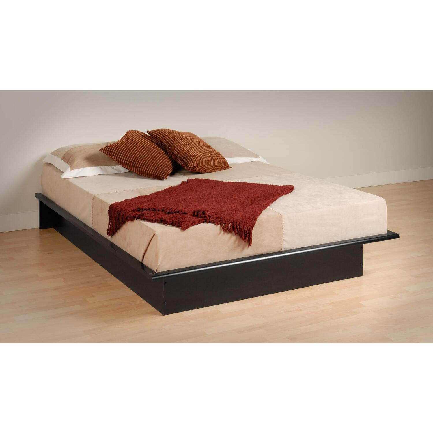 Black Sonoma Double Full Bookcase Platform Bed 402 78