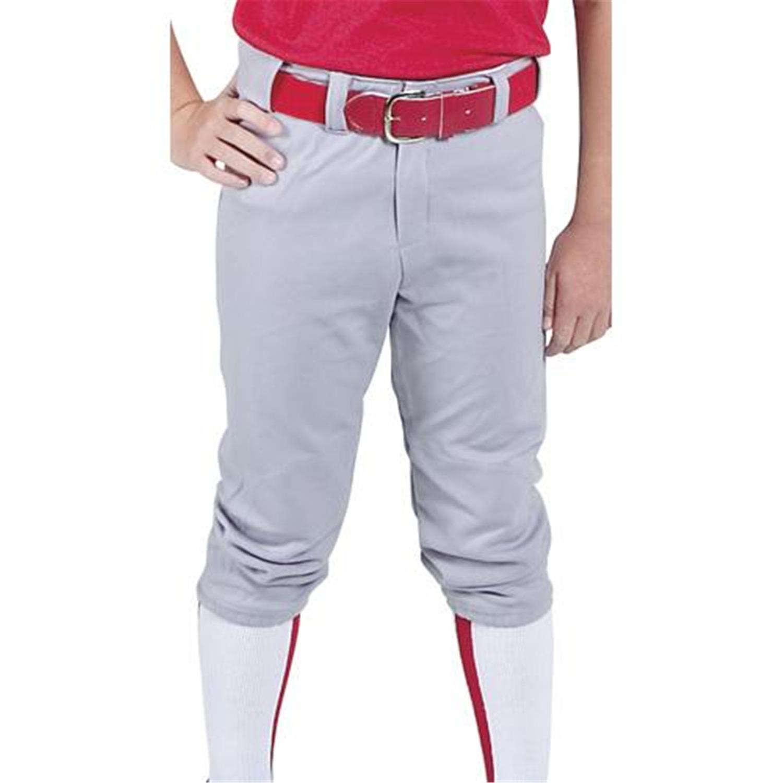 Belted Waist Youth Baseball Pants - [C76YBKLG]