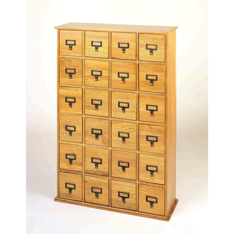 File Cards 10 Heart Svg: Leslie Dame Library Card File Multimedia Cabinet By OJ