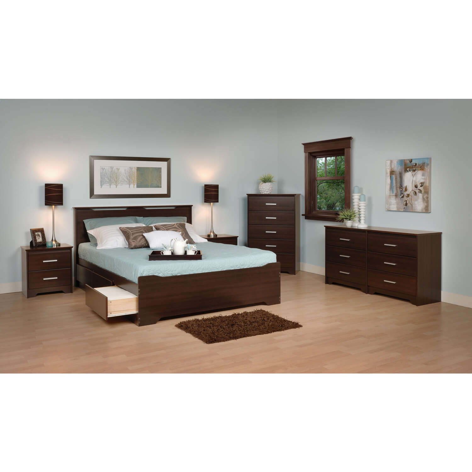 Coal Harbor Full 6 Piece Bedroom Set