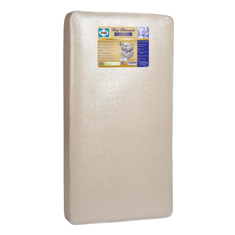 sealy crib mattress reviews sealy baby mattress toddler crib hypoallergenic antisag
