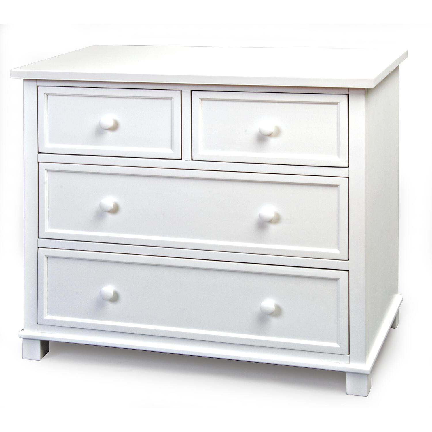Child Craft 3 Drawer Single Dresser Fully Assembled White