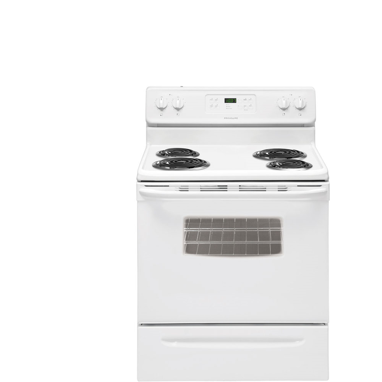 Frigidaire 30 In. Coil Top Freestanding Electric Range White