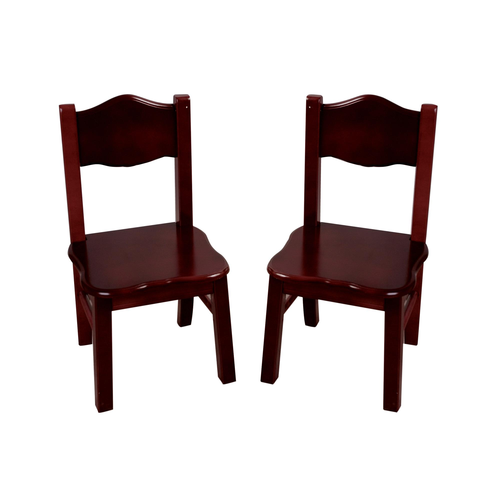 Guidecraft Classic Chairs Set of 2 by OJ merce G $64 99