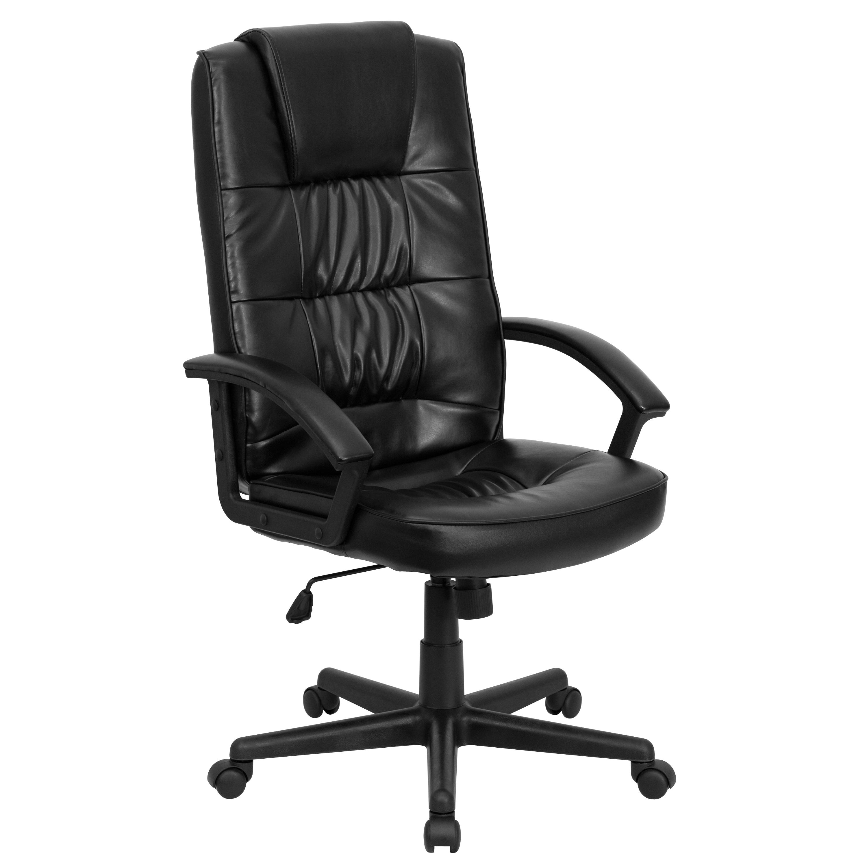Flash Furniture Go 7102 Gg High Back Black Leather