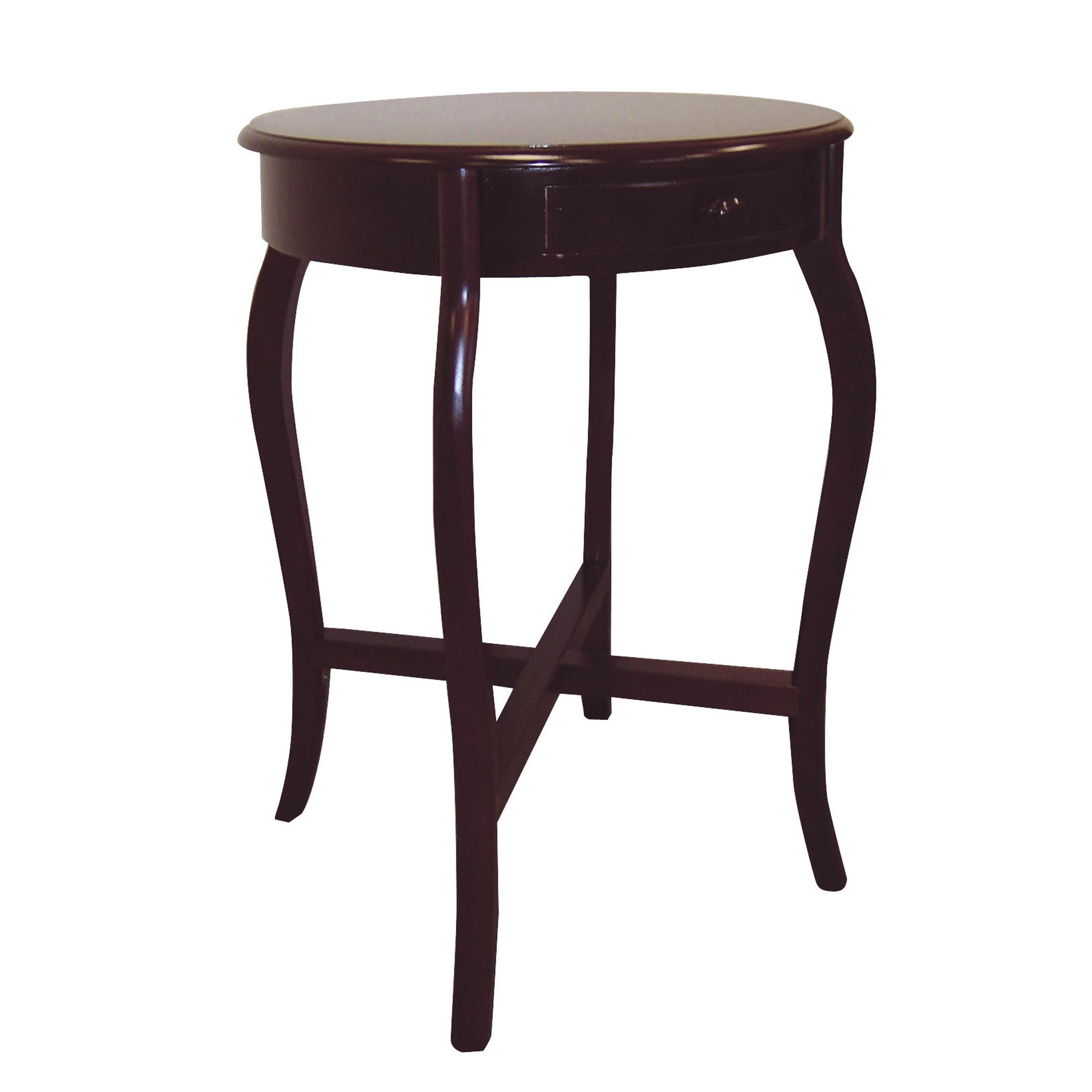 Round cherry end table ojcommerce