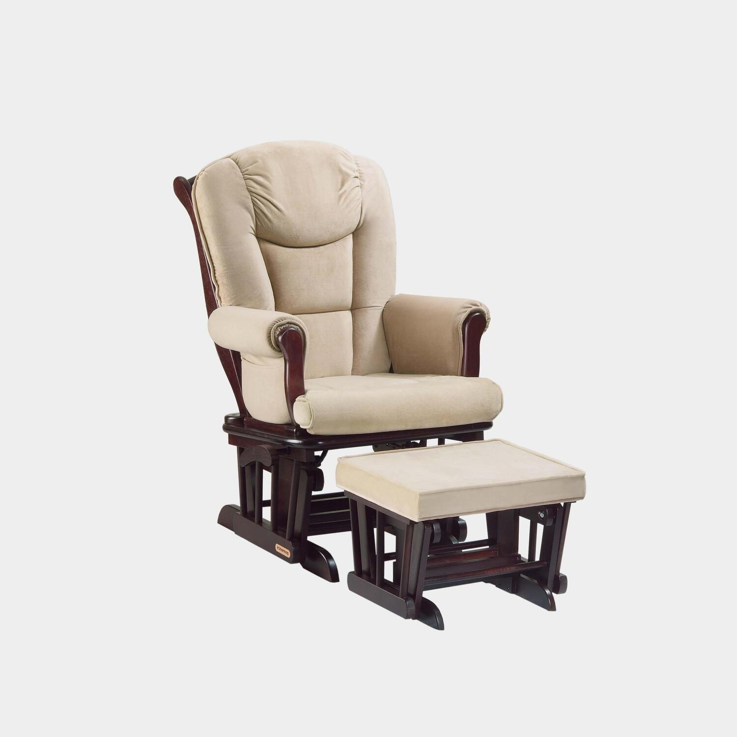 i sleigh rocking ottoman glider nursery and deluxe with home chair set multiposition naomi