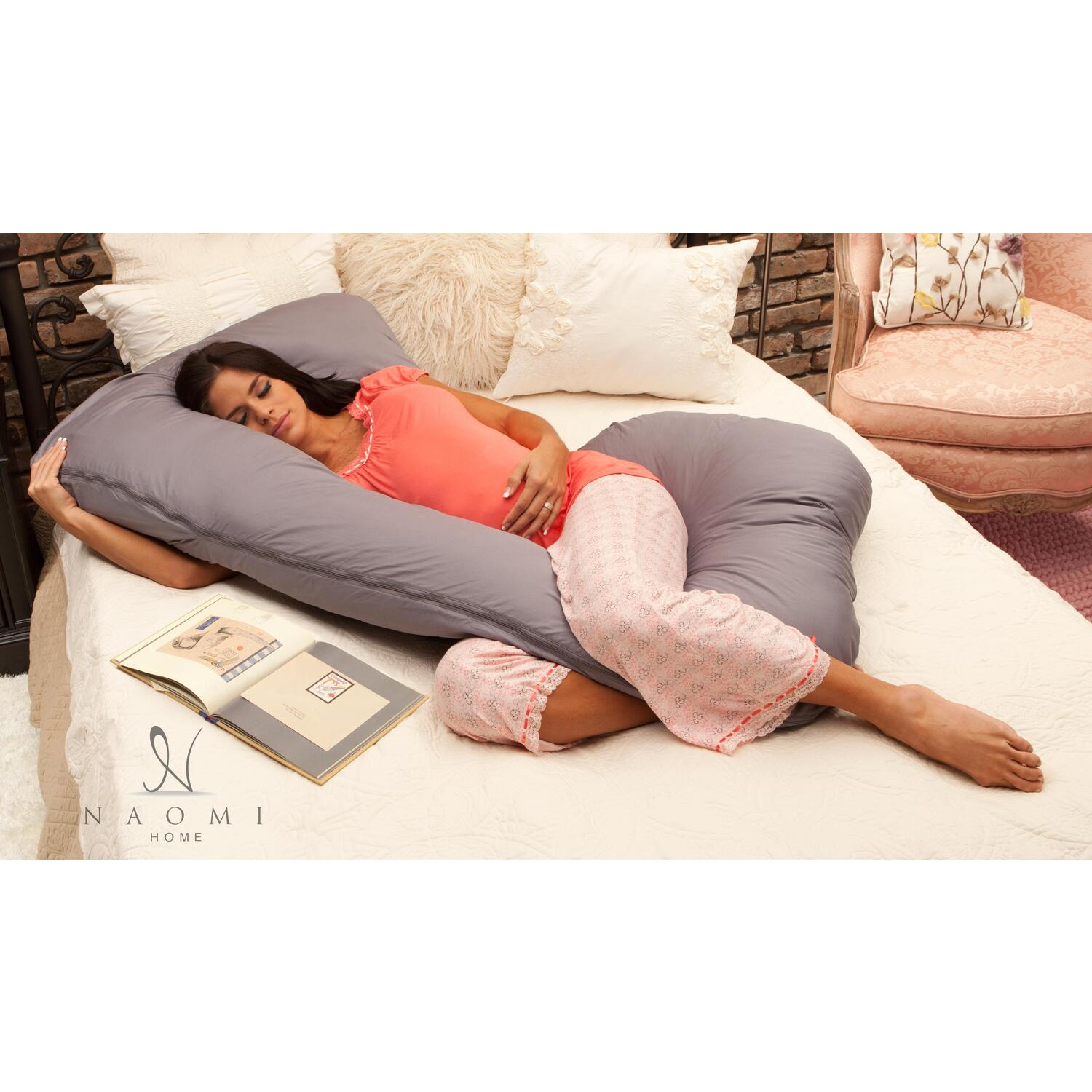 Naomi Home 11207A Naomi Home Cozy Hugger Body Pillow