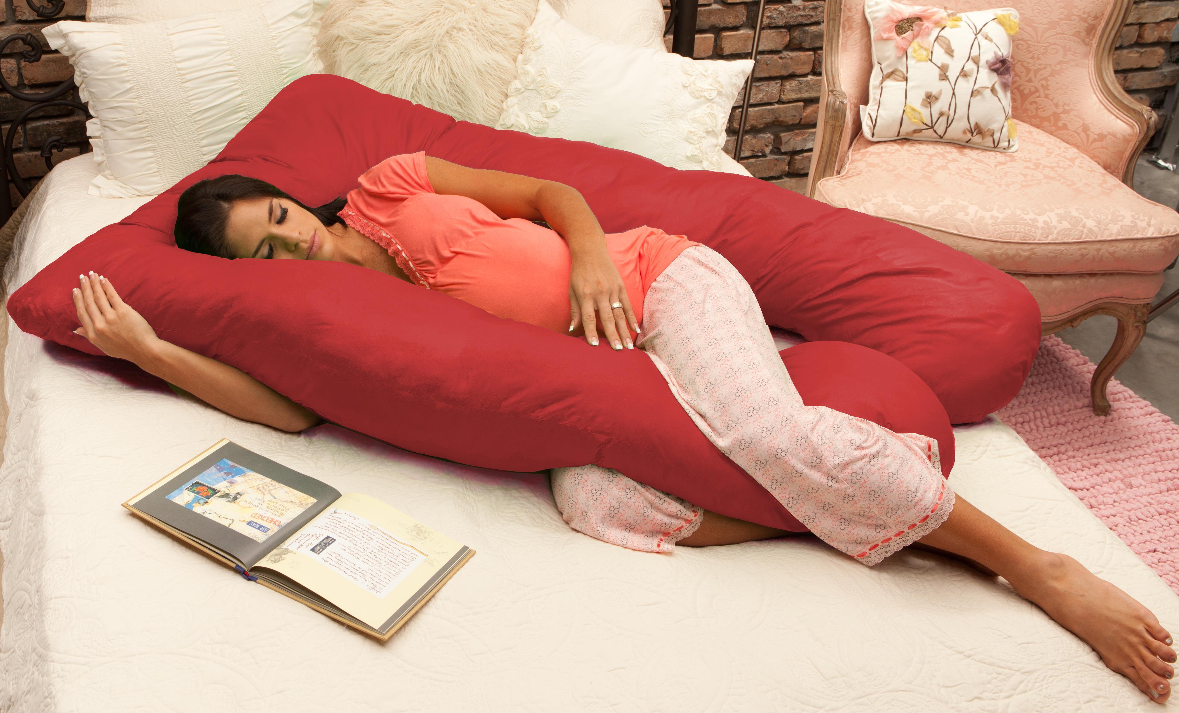 naomi home 11104 naomi home cozy body pillow. Black Bedroom Furniture Sets. Home Design Ideas