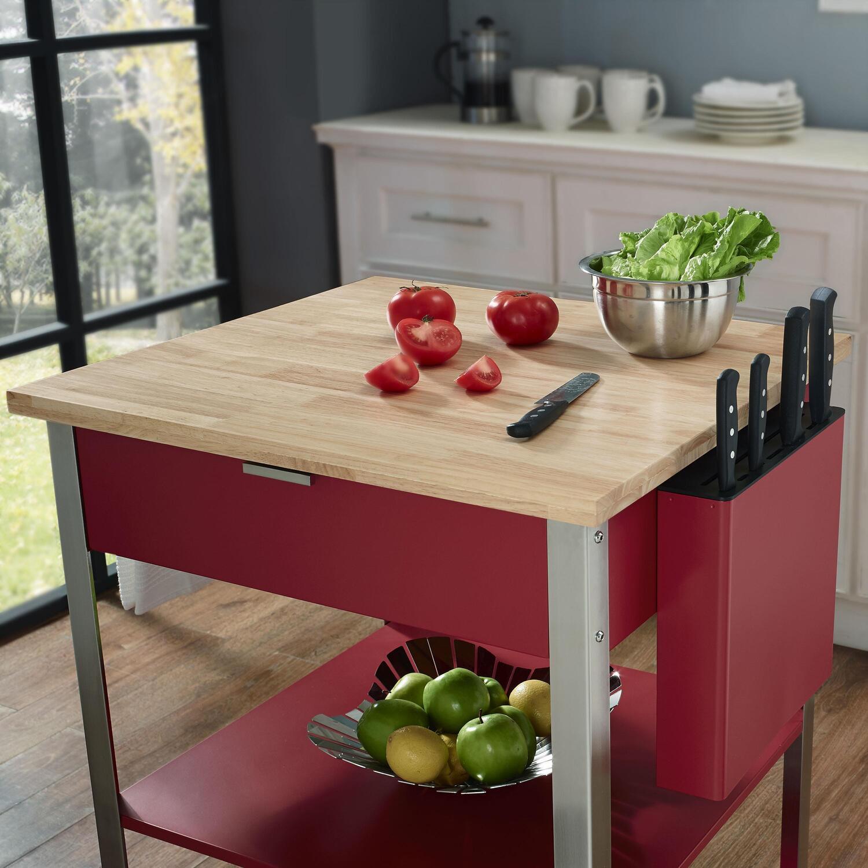 Crosley Culinary Prep Kitchen Cart