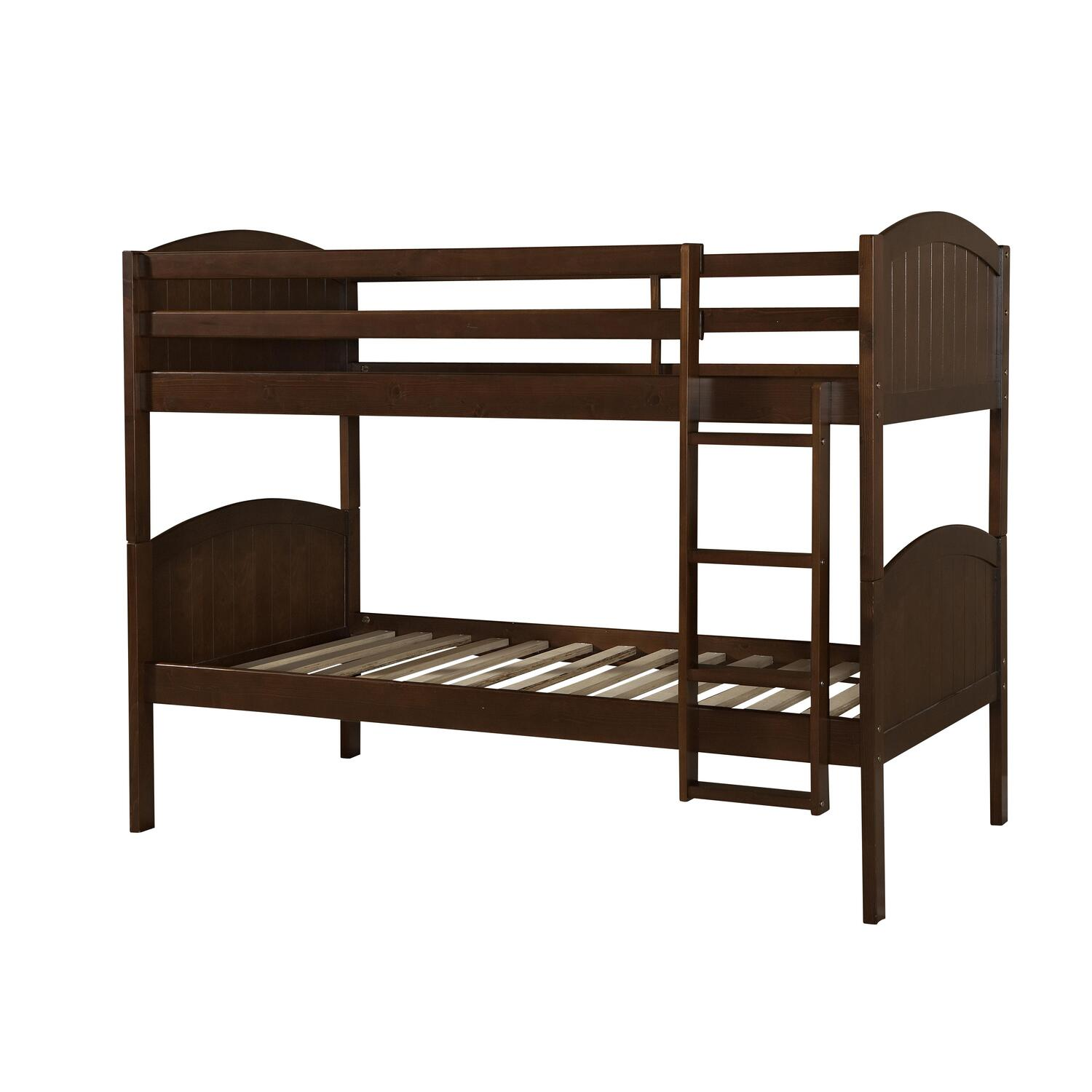 linon home decor bunk beds paula bunk bed ojcommerce 12988