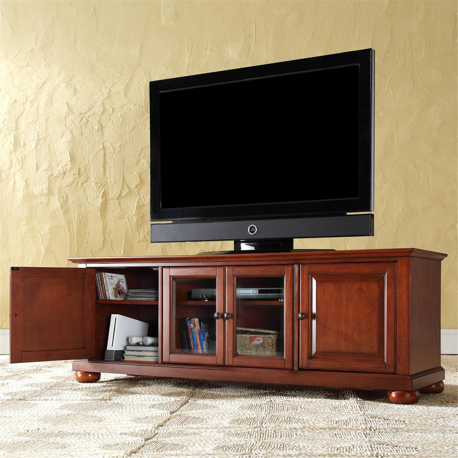 Alexandria 60 Low Profile Tv Stand Ojcommerce