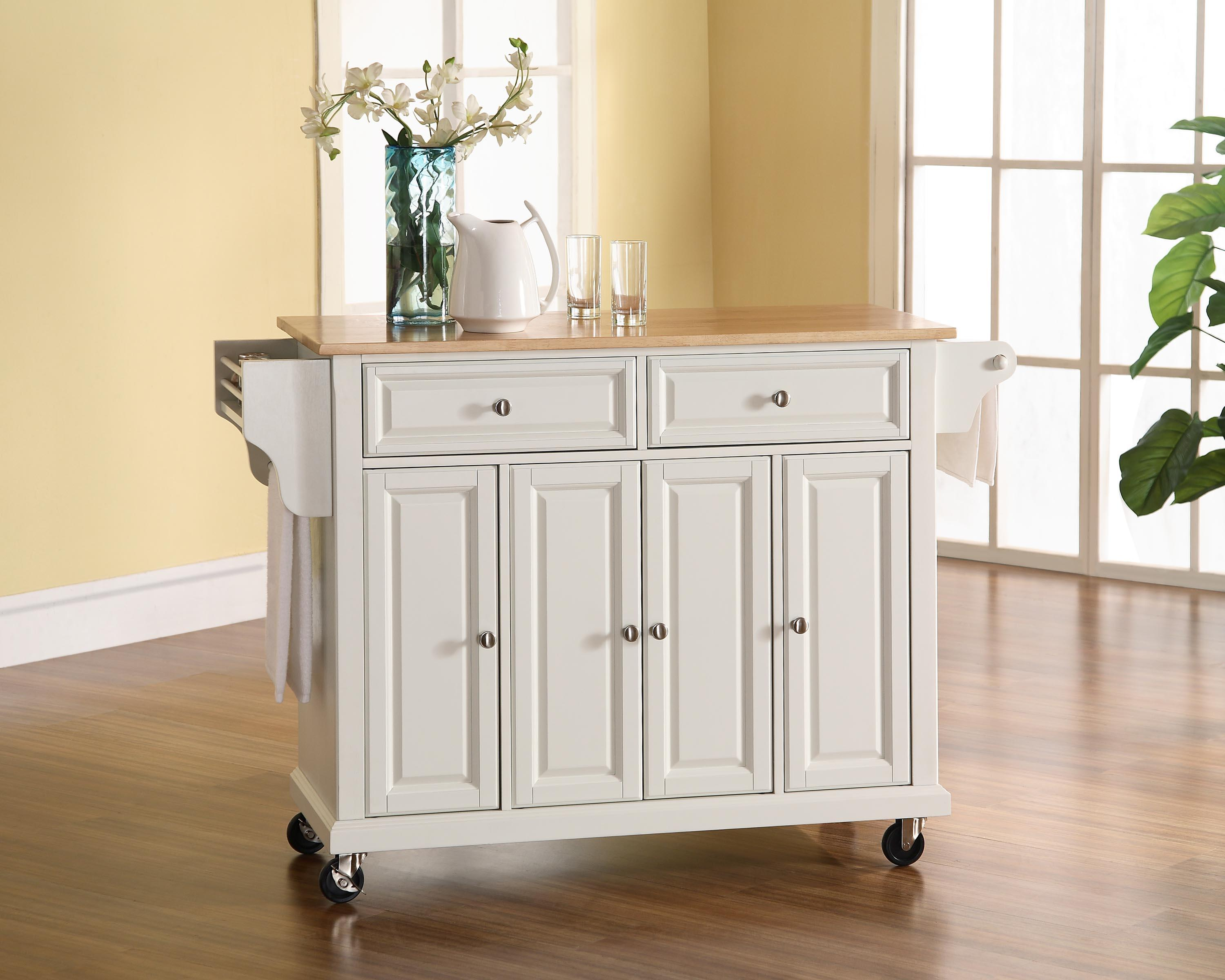 kitchen island or cart ] - shop tresanti summerville white