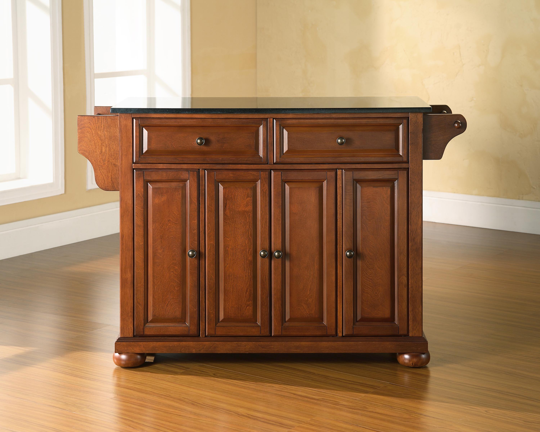crosley alexandria kitchen island by oj commerce crosley furniture alexandria natural wood top kitchen