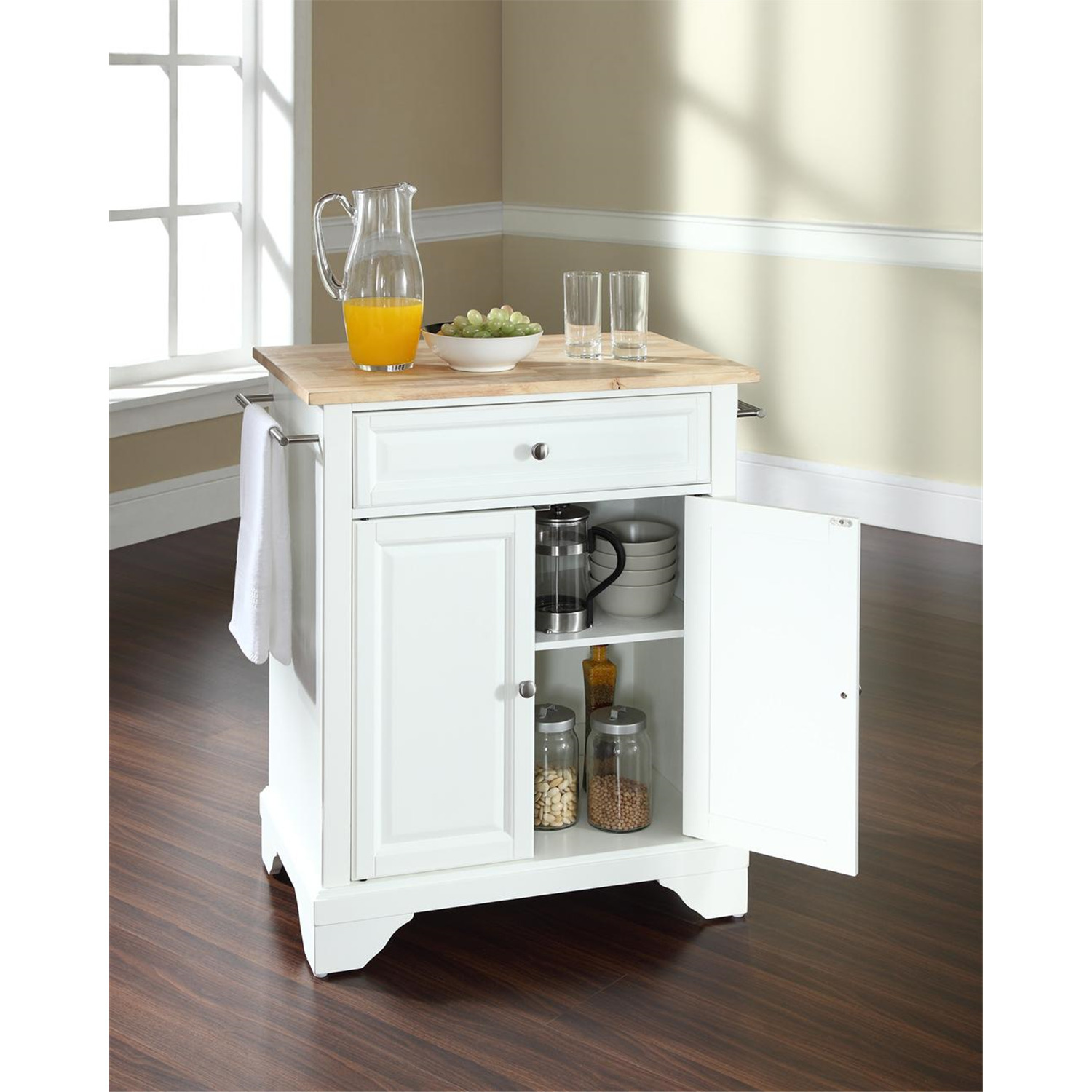 Lafayette Portable Kitchen Island From To Ojcommerce