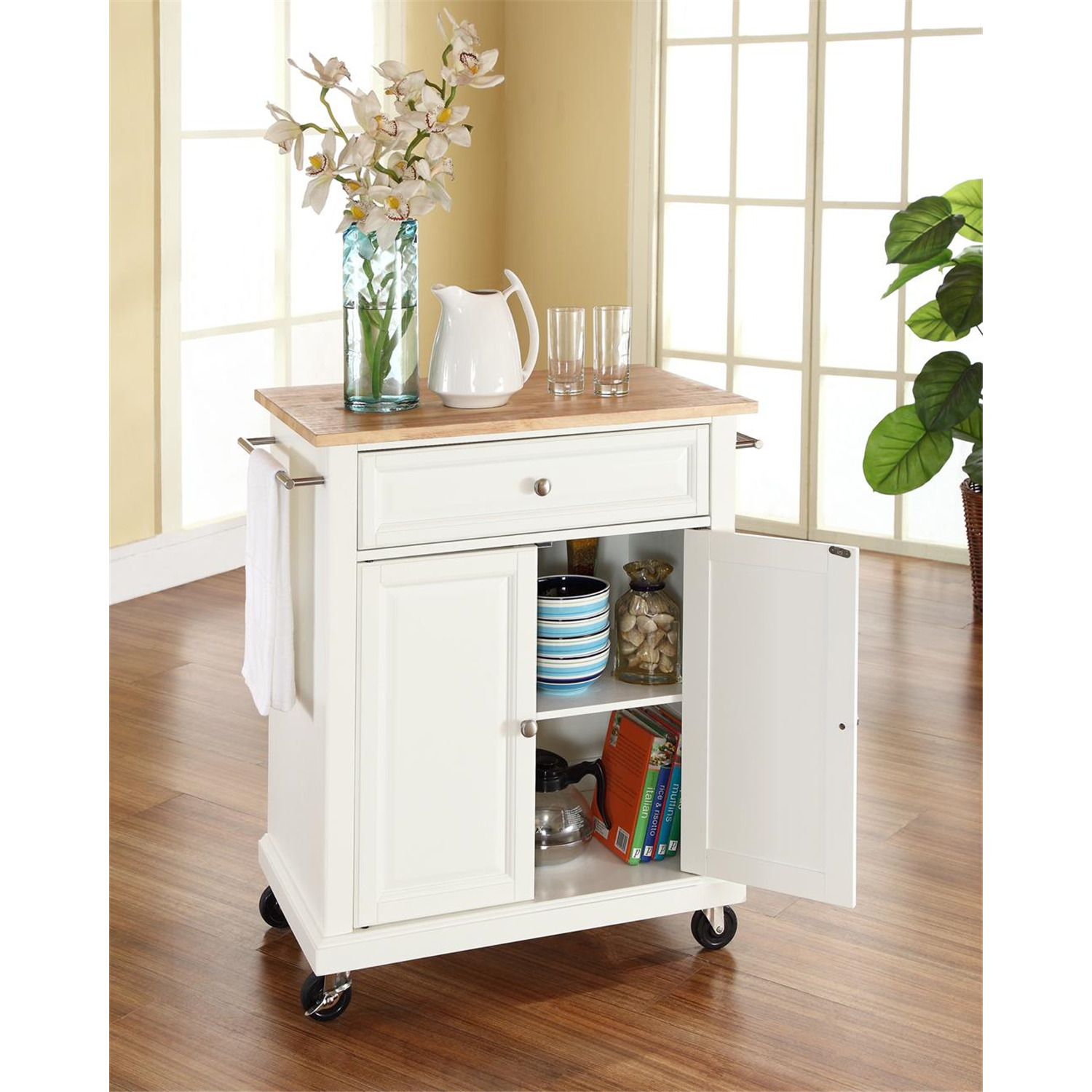 Portable Kitchen Cart Island Ojcommerce