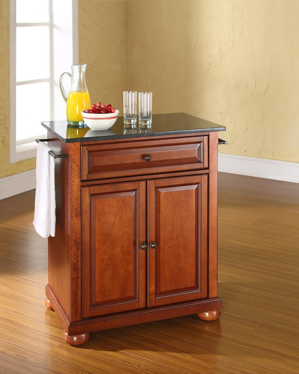 Crosley Alexandria Portable Kitchen Island By OJ Commerce