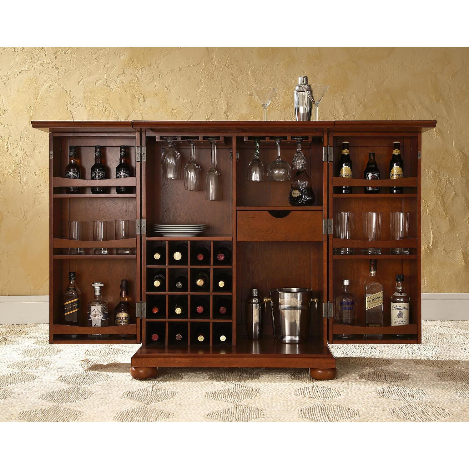 Alexandria Expandable Bar Cabinet 479 00 Ojcommerce