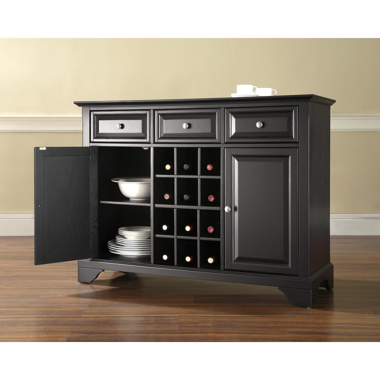 Lafayette Buffet Server Sideboard Cabinet With Wine