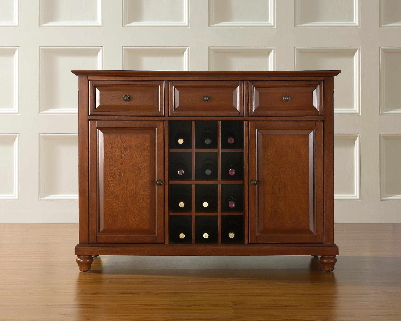 Crosley Cambridge Buffet Server / Sideboard Cabinet With