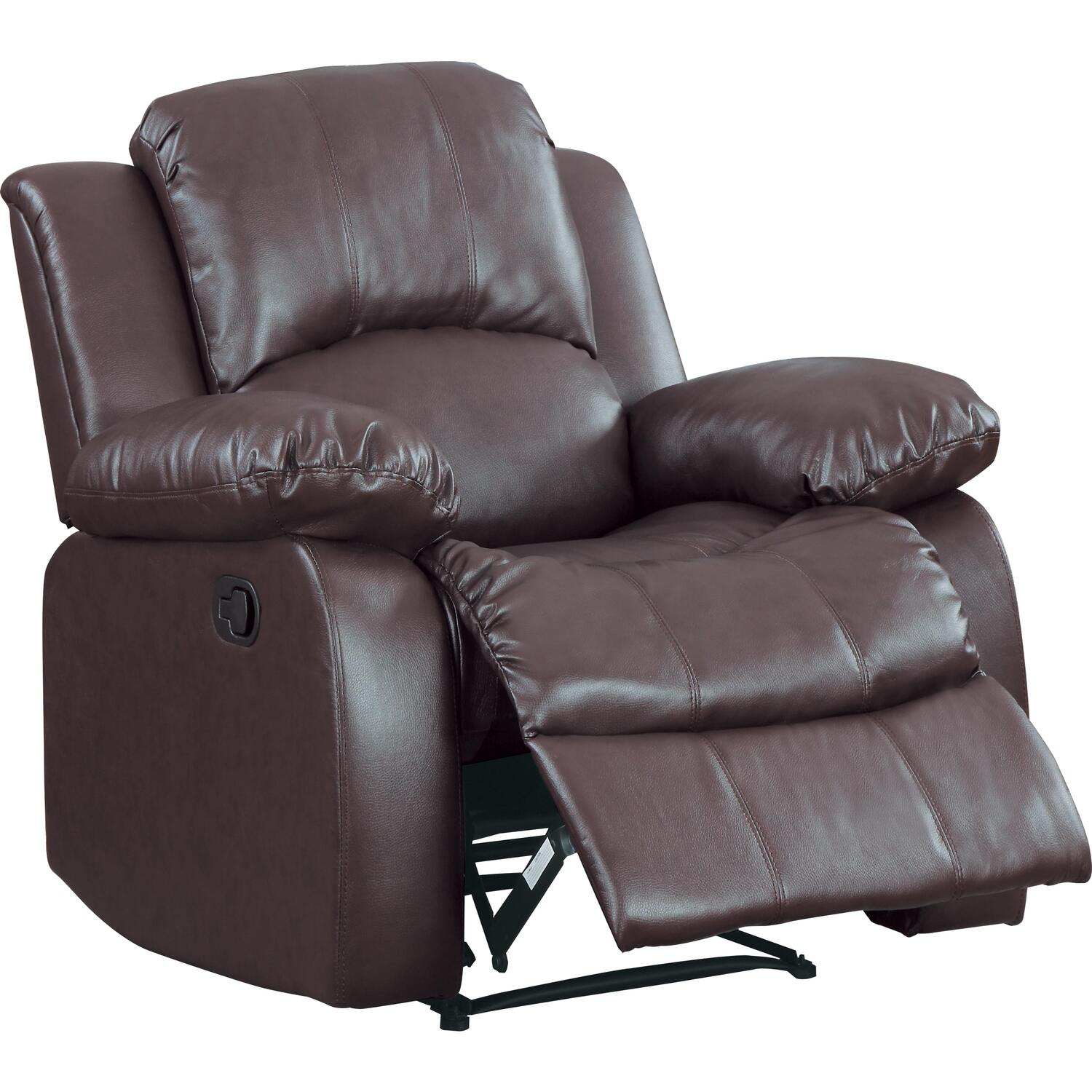 chairs padded chair kitchen recliner rocking dp leather choice products deluxe best cheap com amazon home pu