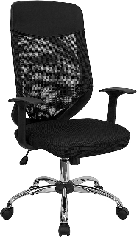 Flash Furniture High Back Mesh Office Chair With Mesh Fabric Seat