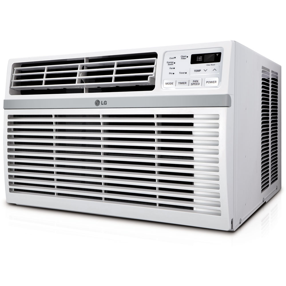 12,000 BTU 115V Window-Mounted Air Conditioner with Remote Control - [LGACLW1216ER]