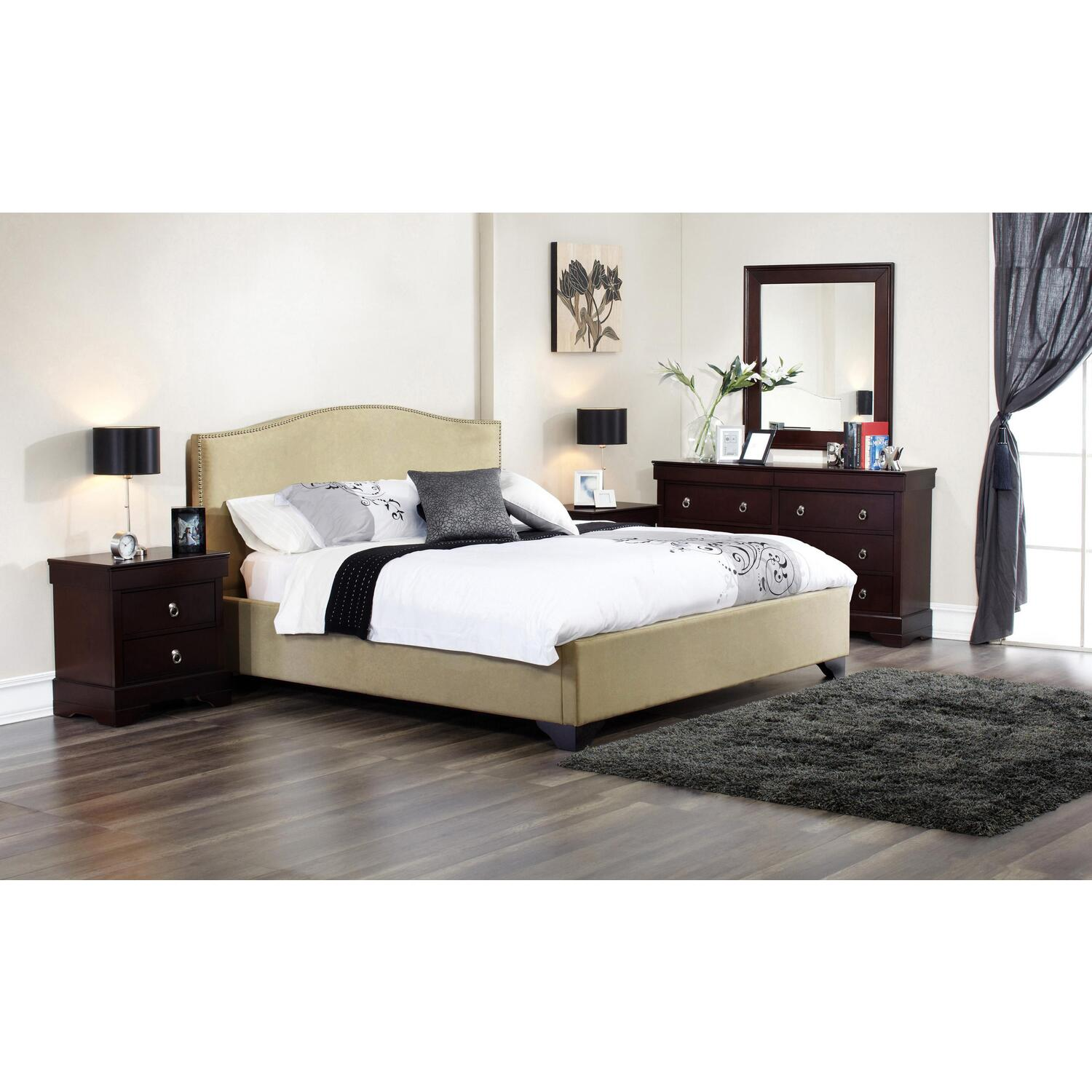 Lifestyle Solutions Magnolia Bedroom Set By Oj Commerce Mgl 4pq6 Cp Set 1
