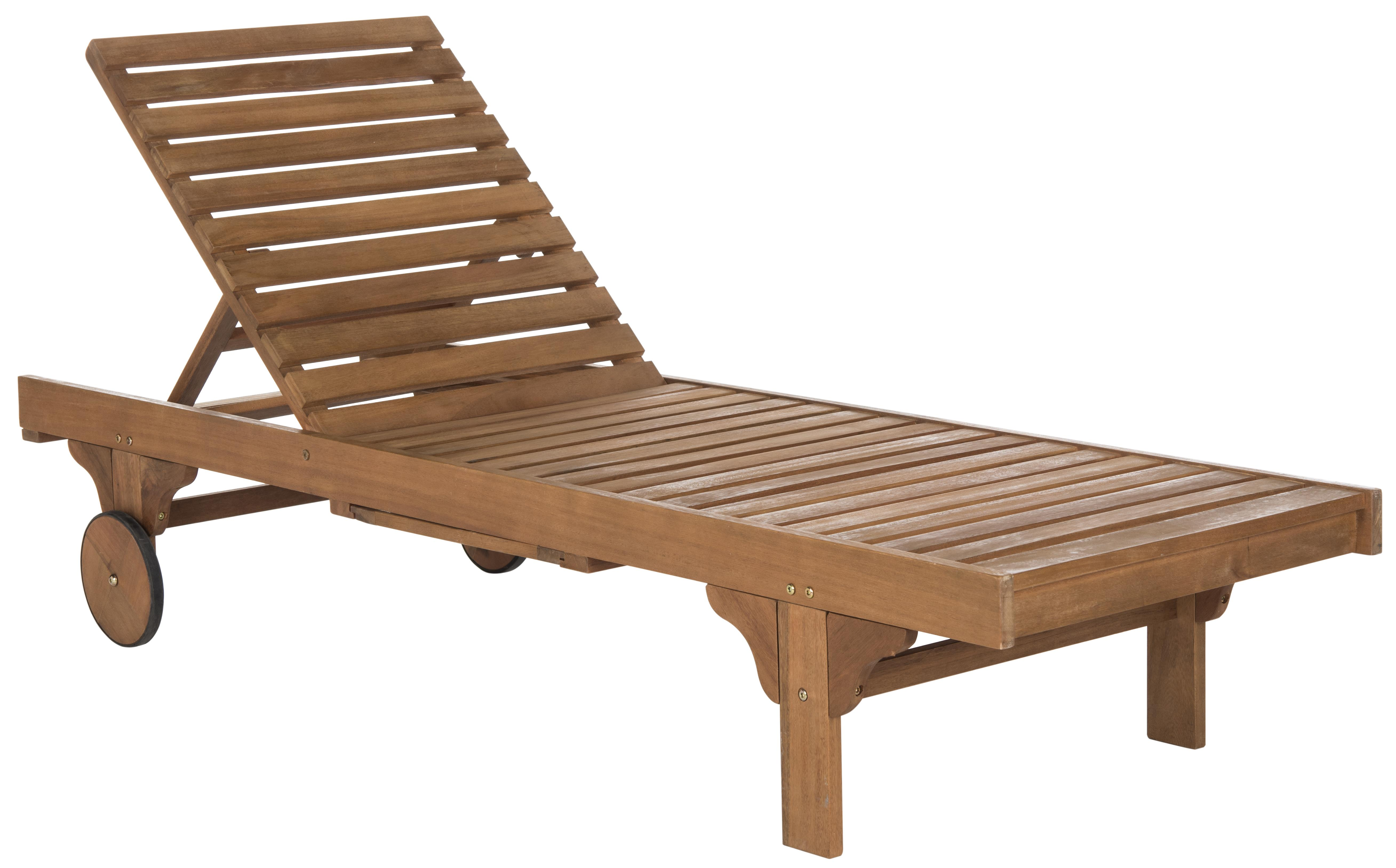 Safavieh Newport Chaise Lounge Chair With Side Table ... on Safavieh Chaise Lounge id=40344