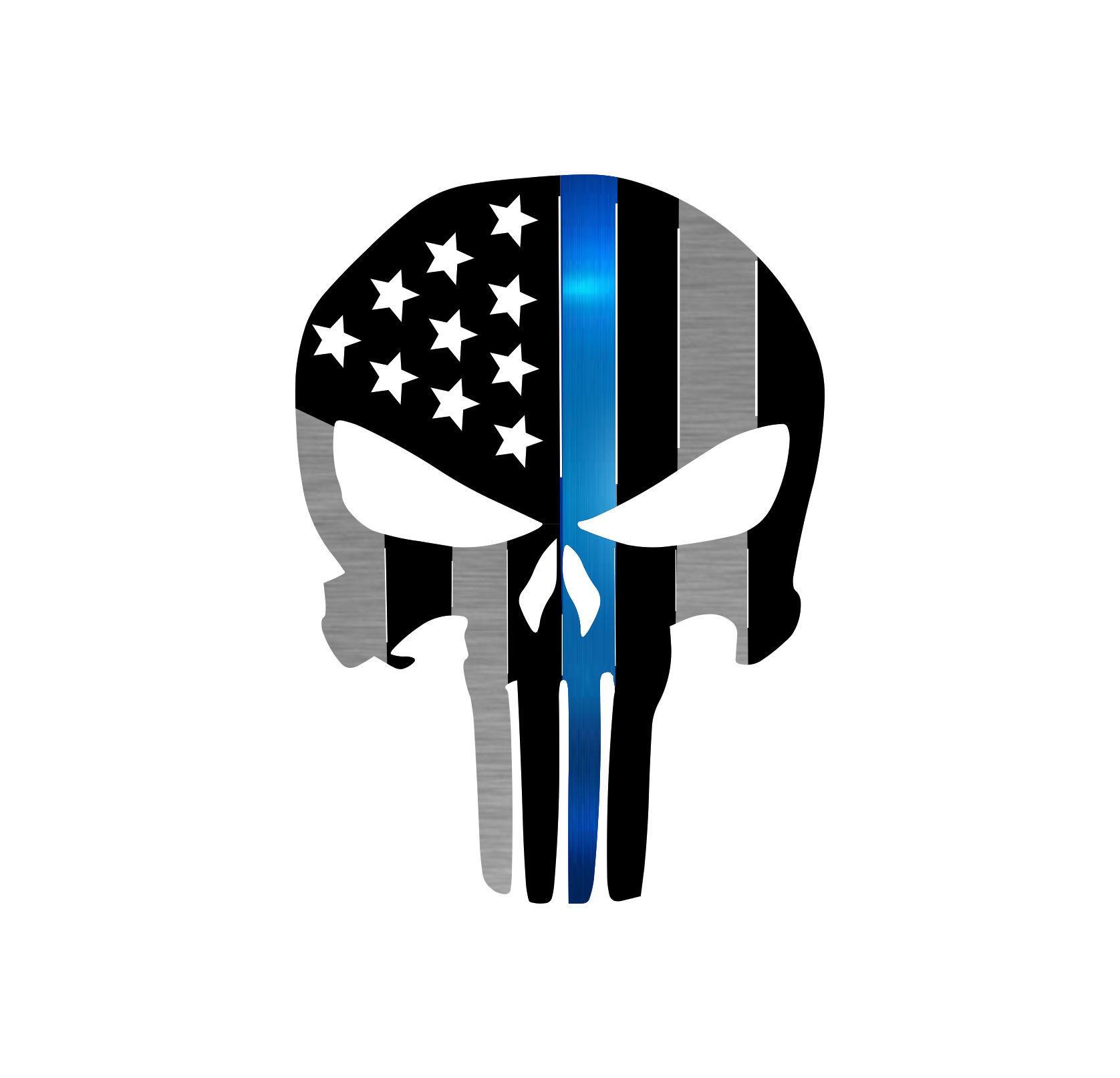 Precision Metal Art Punisher Symbol Steel Laser Cut Wall ...
