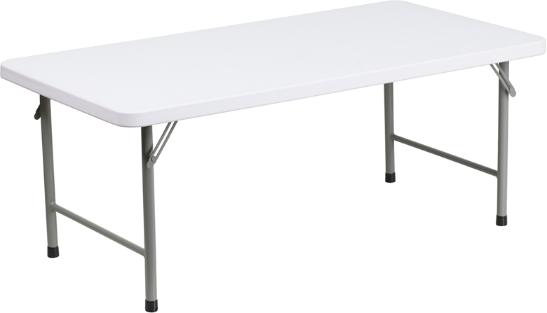 Flash Furniture Kid'S Plastic Folding Table [Item # RB-2448-KID-GG]