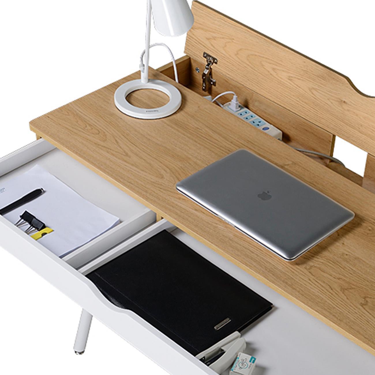 Techni Mobili Modern Multi Storage Computer Desk With