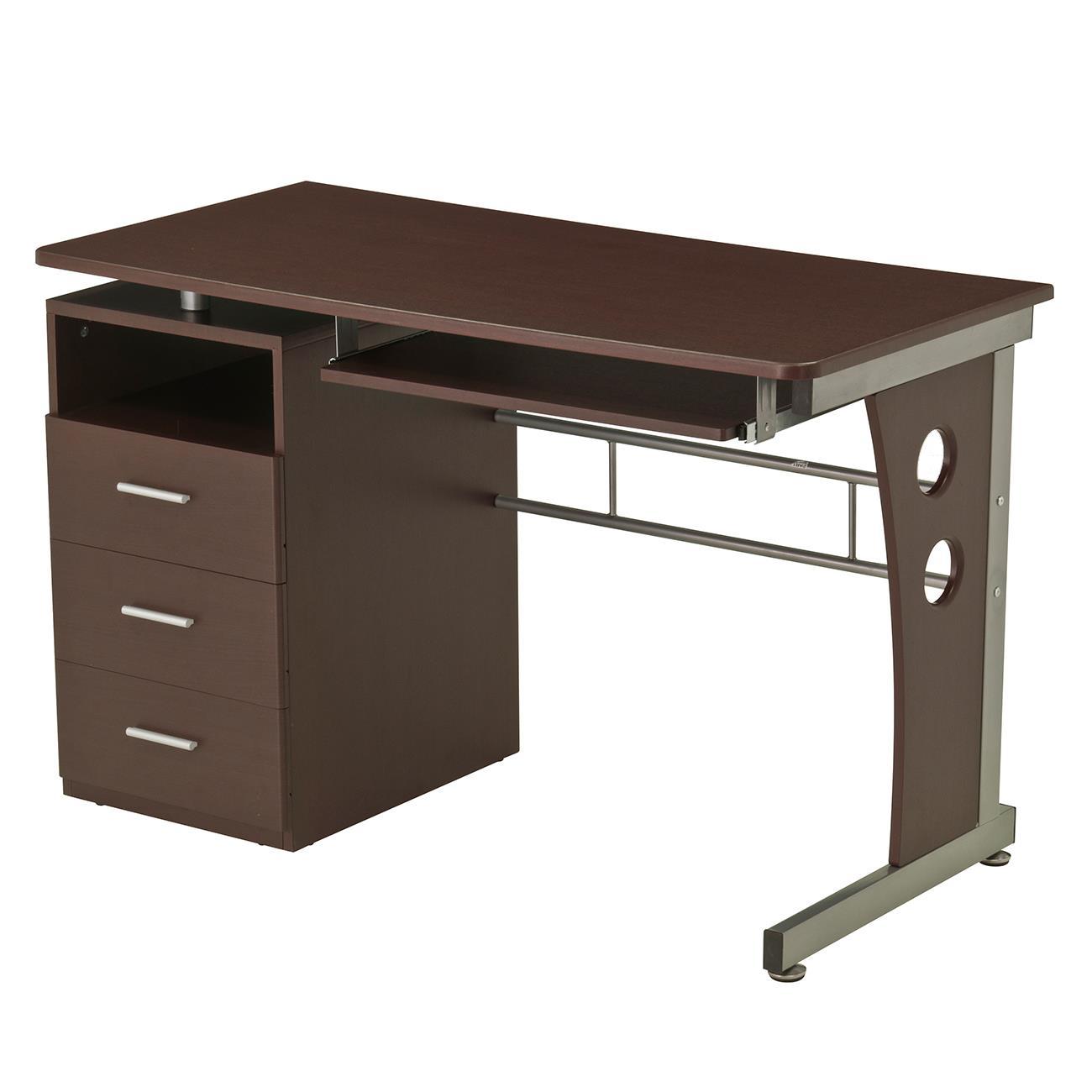 Techni mobili computer desk with ample storage for Mobili computer