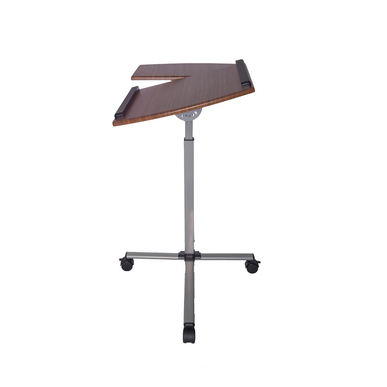 Techni Mobili Rolling Adjustable Laptop Cart From 55 10