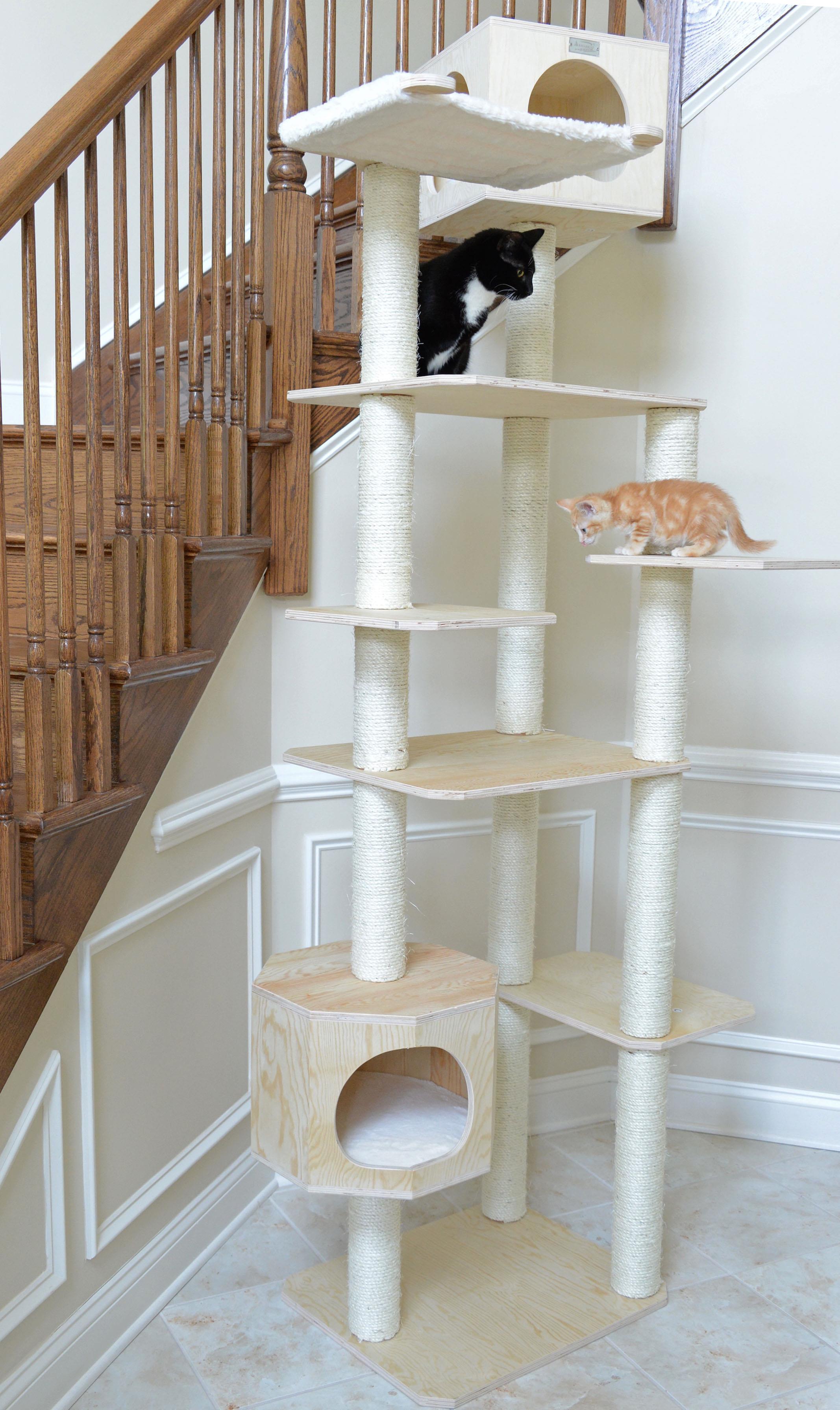 New Design Armarkat Solid Wood Cat Tree Condo Furniture   [S8902]
