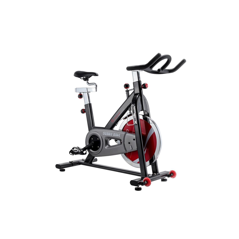 Sunny Health & Fitness Belt Drive Indoor Cycling Bike - [SF-B1002-Belt]
