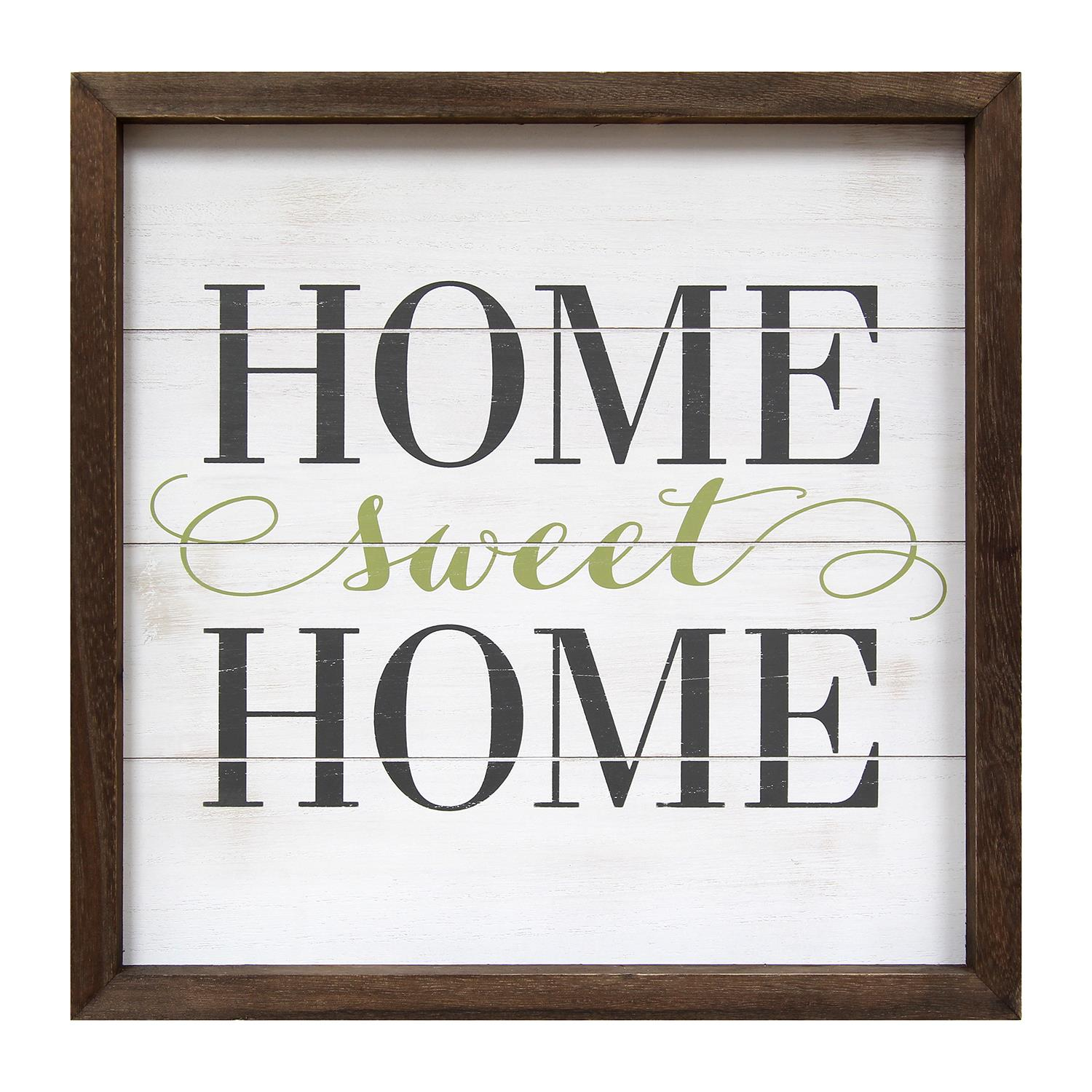 Stratton home decor home sweet home wall art for Stratton house